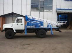 Услуги по аренде автовышкиВИПО-20-01 на базе ГАЗ 33081 в Бресте и Брестской области по низким ценам