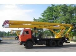 Услуги по аренде автовышкиПМС 328-02П на базе КАМАЗ 65115 в Бресте и Брестской области по низким ценам