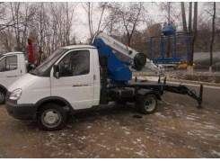 Услуги по аренде автовышкиПТЛ-14 на базе ГАЗ 3302 в Бресте и Брестской области по низким ценам