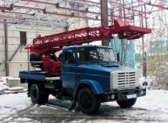 Услуги по аренде автовышкиАГП-18 на базе ЗиЛ 433362 в Бресте и Брестской области по низким ценам