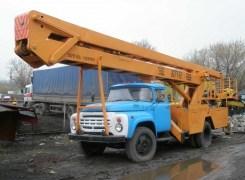 Услуги по аренде автовышкиАГП-22 на базе ЗиЛ 130 в Бресте и Брестской области по низким ценам