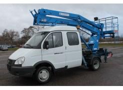 Услуги по аренде автовышкиПМС 212-02 на базе ГАЗ-33023 в Бресте и Брестской области по низким ценам