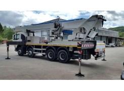 Услуги по аренде автовышкиMULTITEL J352 TA на базе MAN в Бресте и Брестской области по низким ценам