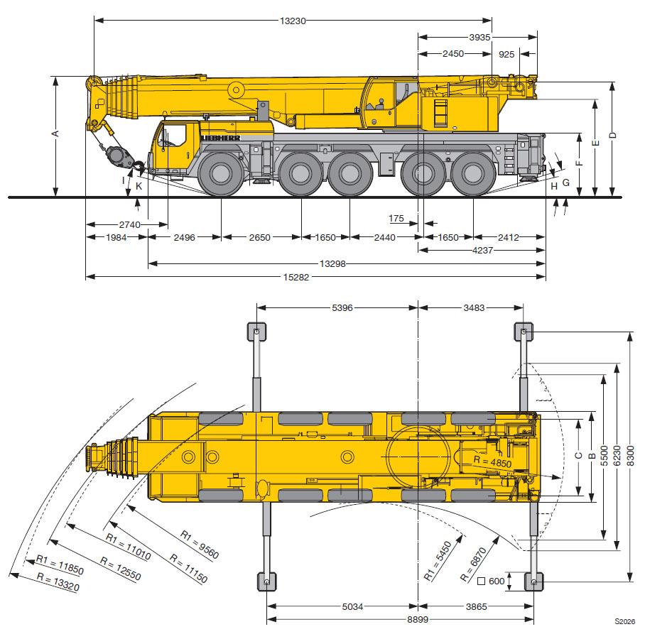 Схемы для автокранов либхер